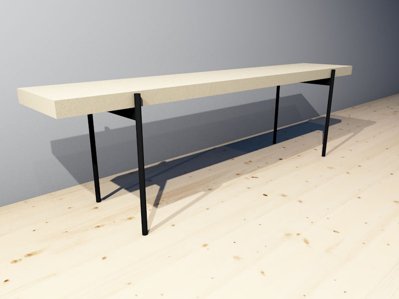 Leiya Products MURU Bench